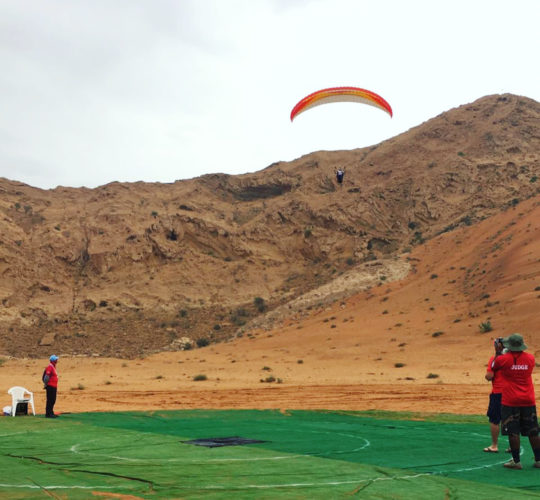 Sharjah Paragliding Accuracy